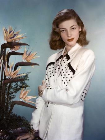 Actress Lauren Bacall born September 16th, 1924 in New York as Betty Joan Perske, here 1948 (photo)