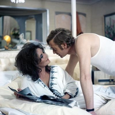 Une Belle Tigresse ZEE & CO by Brian Hutton with Elizabeth Taylor and Michael Caine, 1972 (photo)