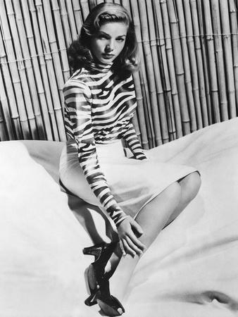 Actress Lauren Bacall born September 16th, 1924 in New York as Betty Joan Perske, here 1944 (b/w ph