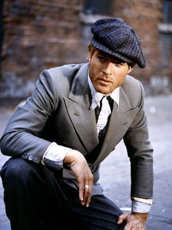 L'Arnaque THE STING by GeorgeRoyHill with Robert Redford, 1973 (photo)