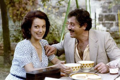 Retour en force by Jean Marie Poire with Bernadette Lafont and Victor Lanoux, 1980 (photo)