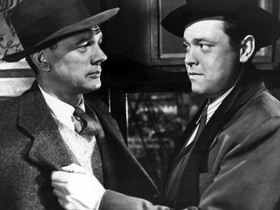 Le Troisieme Homme THE THIRD MAN by Carol Reed with Joseph Cotten and Orson Welles, 1949 (b/w photo
