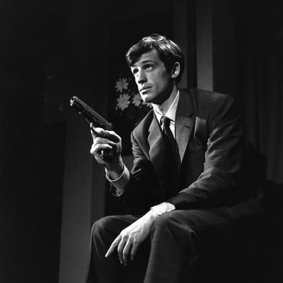 Un Nomme La Rocca by Jean Becker with Jean-Paul Belmondo, 1961 (b/w photo)