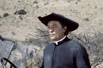 La colere by Dieu (The Wrath of God) by Ralph Nelson with Robert Mitchum, 1972 (photo)