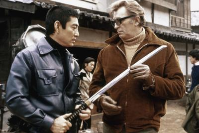 THE YAKUZA by SydneyPollack with Ken Takakura and Robert Mitchum, 1974 (photo)