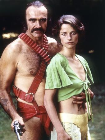 Zardoz by JohnBoorman with Sean Connery and Charlotte Rampling, 1974 (photo)