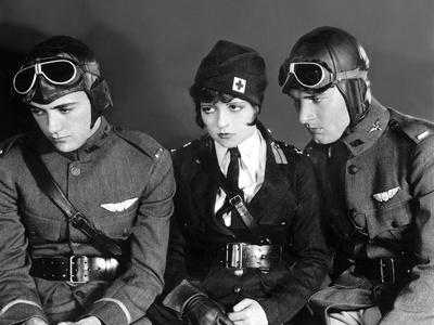Ailes WINGS by WilliamWellman with Charles Rogers Clara Bow Richard Arlen, 1927 (Oscar, 1927) (b/w
