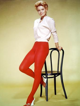 American actress Angie Dickinson (born Angeline Brown en, 1931), here 1963 (photo)