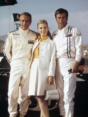 Virages WINNING by James Goldstone with Paul Newman, Joanne Woodward and Ronert Wagner, 1969 (photo