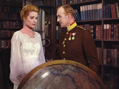 Le Cygne THE SWAN by CharlesVidor with Grace Kelly and Alec Guinness, 1956 (photo)