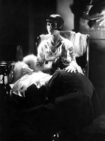Loulou Lulu La boite by Pandore Pandora's Box by GeorgWilhelmPabst with Louise Brooks, 1929 (b/w ph