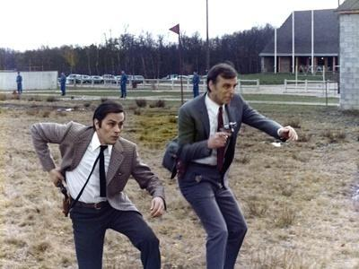 Un Flic by JeanPierreMelville with Alain Delon, 1972 (photo)