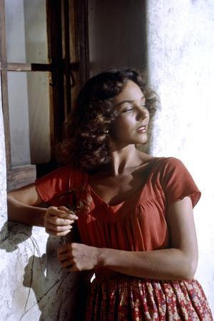 Duel au soleil (DUEL IN THE SUN), Jennifer Jones, 1946 by KingVidor (photo)