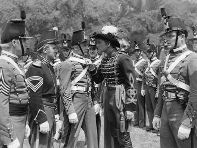 La Charge Fantastique THEY DIED WITH THEIR BOOTS ON by Raoul Walsh with Joe Sawyer, Arthur Kennedy