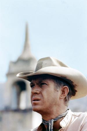 Les sept mercenaires The MAGNIFICENT SEVEN by JohnSturges with Steve Mac Queen, 1960 (photo)