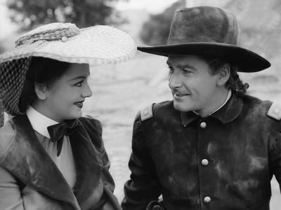 La Charge Fantastique THEY DIED WITH THEIR BOOTS ON by Raoul Walsh with Olivia by Havilland and Err