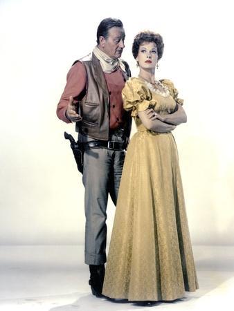 Le grand McLintock (McLINTOCK ! ) by Andrew V. McLaglen with John Wayne and Maureen O'Hara, 1963 (p