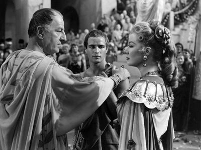 Jules Cesar JULIUS CAESAR by Joseph Mankiewicz with Louis Calhern, Marlon Brando and Greer Garson,