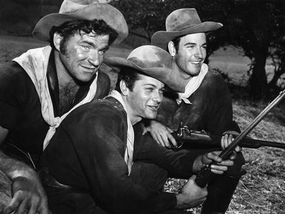 Winchester 73 by AnthonyMann with Tony Curtis, 1950 (photo)