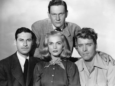 La furie du desert (Desert Fury) by Lewis Allen with Lizabeth Scott John Hodiak and Burt Lancaster,