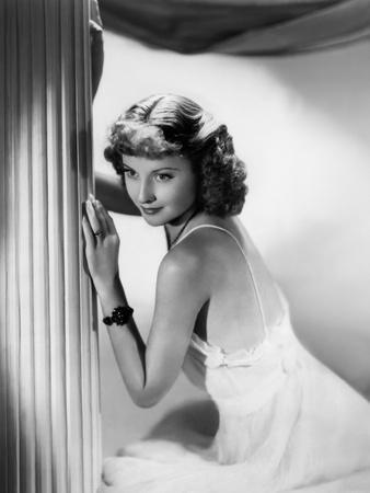L'actrice americaine Barbara Stanwyck (1907- 1990) (b/w photo)