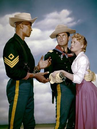 Le Sergent Noir SERGEANT RUTLEDGE by JohnFord with Woody Strode, Jeffrey Hunter and Constance Tower