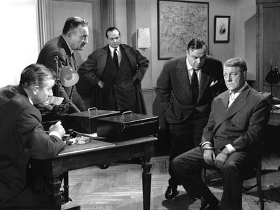 Le rouge est mis de GillesGrangier avec Jean Gabin 1957