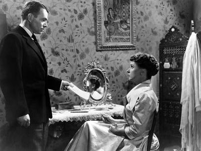 L'affaire Ciceron FIVE FINGERS by JosephMankiewicz with James Mason, Danielle Darrieux, 1952 (b/w p