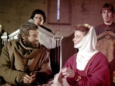 Un lion en hiver The lion in winter by AnthonyHarvey with Peter O'Toole and Katharine Hepburn, 1968