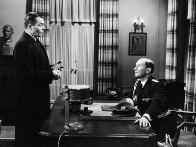 L'affaire Ciceron FIVE FINGERS by JosephMankiewicz with James Mason, 1952 (b/w photo)