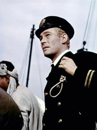 Lord Jim by Richard Brooks with Peter O'Toole, 1965 (photo)