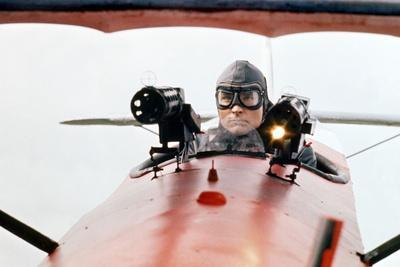Le Baron rouge (The Red Baron) by Roger Corman with John Phillip Law, 1971 (photo)