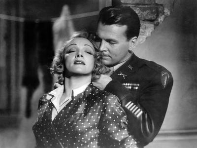 La scandaleuse by Berlin A Foreign Affair by BillyWilder with Marlene Dietrich and John Lund, 1948