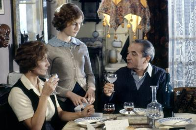 Violette Noziere by ClaudeChabrol with Stephane Audran, Isabelle Huppert and Jean Carmet, 1978 (pho