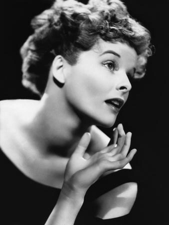 Katharine Hepburn (b/w photo)