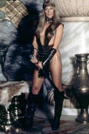 Conan le barbare Conan the Barbarian by John Milius with Sandahl Bergman, 1982 (photo)