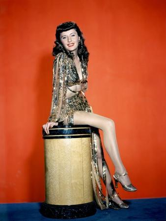 Boule by Feu BALL OF FIRE, Barbara Stanwyck, 1941 (photo)