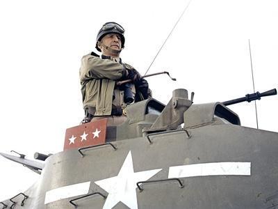 """""""Patton"""" by Franklin Schaffner with George C. Scott, 1970 (photo)"""