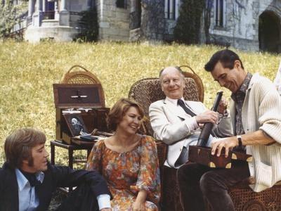 Providence by Alain Resnais with David Warner, Ellen Burstyn, John Gielgud and Dirk Bogarde, 1976 (