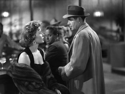 Reglement by Comptes THE BIG HEAT by FritzLang with Glenn Ford and Gloria Grahame, 1953 (b/w photo)