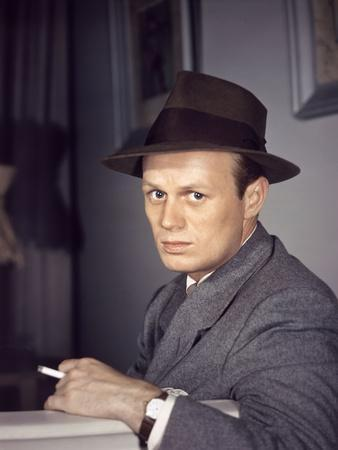Les Forbans by la nuit Night and the City by JulesDassin with Richard Widmark, 1950 (photo)
