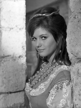 Cartouche by PhilippedeBroca with Claudia Cardinale, 1962 (b/w photo)