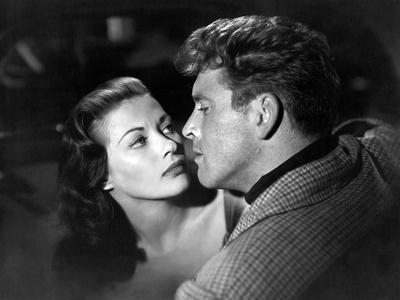 Pour toi j'ai tue CRISS CROSS by RobertSiodmak with Yvonne by Carlo, Burt Lancaster, 1949 (b/w phot
