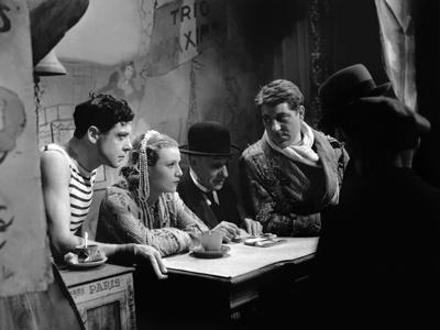 Varietes Nicolas Farkas with Fernand Gravey, Annabella and Jean Gab 1935 (b/w photo)