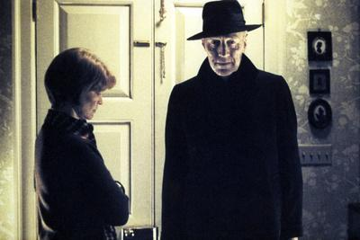 L' exorciste THE EXORCIST by William Friedkin with Ellen Burstyn and Max von Sydow, 1973 (photo)