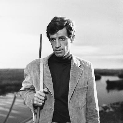 La Novice by Alberto Lattuada with Jean-Paul Belmondo, 1961 (b/w photo)