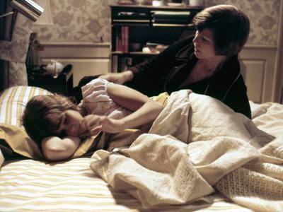 L' exorciste THE EXORCIST by William Friedkin with Linda blair and Ellen Burstyn, 1973 (photo)