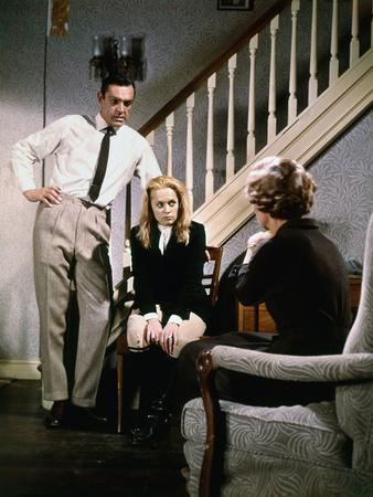 """MARNIE"" by AlfredHitchcock with Tippi Hedren and Sean Connery, 1965 (photo)"