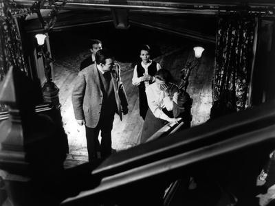 La Maison du Diable THE HAUNTING by RobertWise with Richad Johnson, Russ Tamblyn, Claire Bloom and