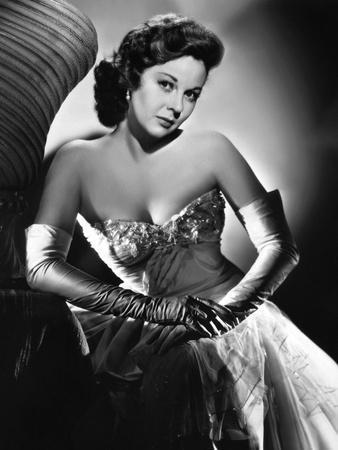 Susan Hayward (1918 - 1975) actrice americaine dans les annees 50, 1950's (b/w photo)